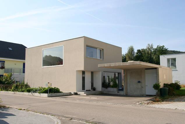 haus sieber low budget einfamilienh user projekte am architektur gmbh andr meier lenzburg. Black Bedroom Furniture Sets. Home Design Ideas